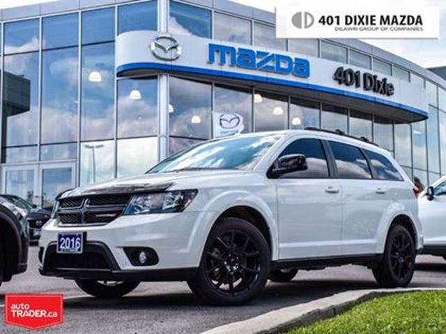 2016 DODGE Journey SXT/Limited, NO ACCIDENTS, UPGRADED RIMS in Mississauga, Ontario
