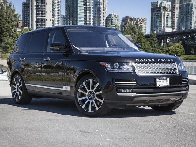 2017 LAND ROVER Range Rover V8 Autobiography Supercharged LWB in Vancouver, British Columbia
