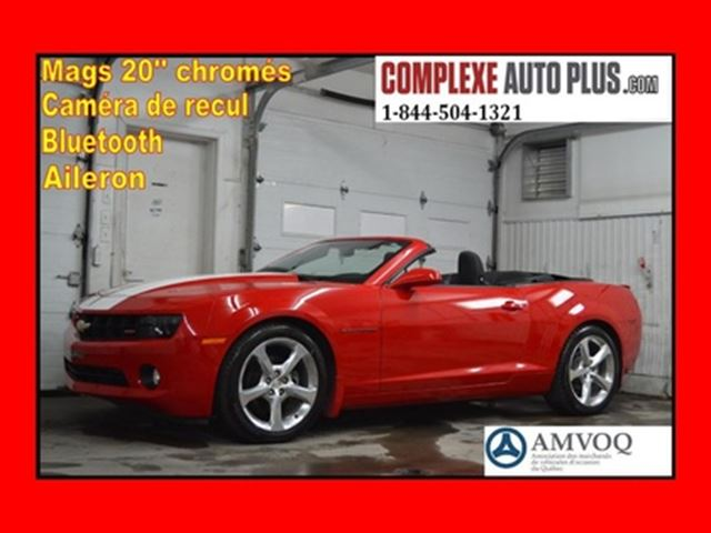 2013 CHEVROLET Camaro 1LT RS Convertible *Mags chromé,Aileron,Camera re in Saint-Jerome, Quebec