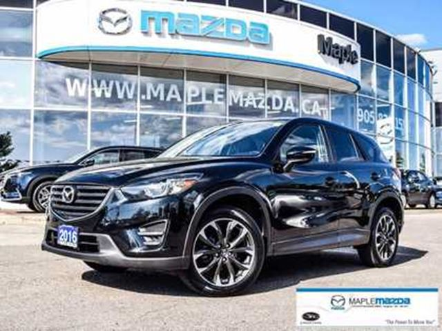 2016 Mazda CX-5 GT, AWD, Leater, Navi, Camera, One owner in Vaughan, Ontario