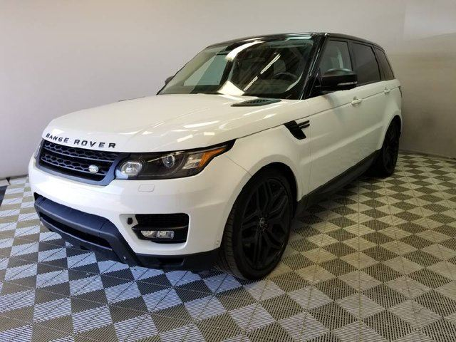 2015 LAND ROVER RANGE ROVER Sport V8 Supercharged Dynamic STEALTH - CPO 6yr/160000kms manufacturer warranty included until June 29, 2021! CPO rates starting at 2.9%! in Edmonton, Alberta