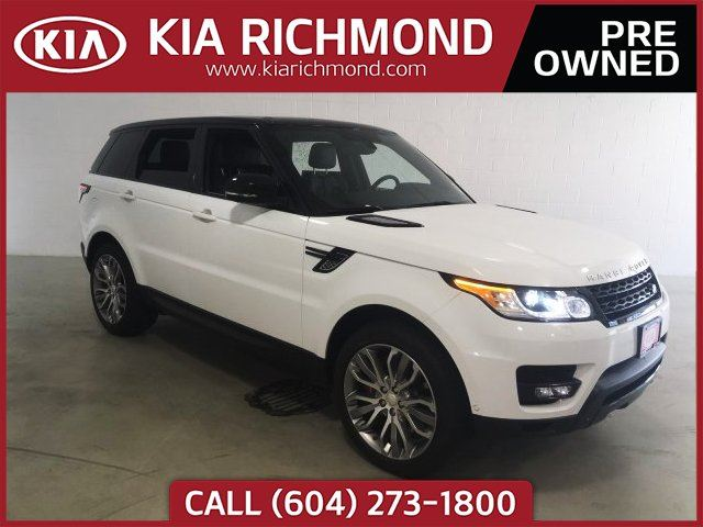 2015 LAND ROVER RANGE ROVER Sport V8 Supercharged in Richmond, British Columbia