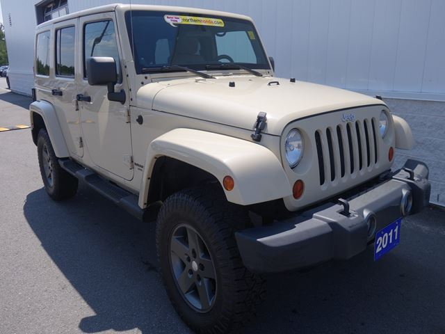 2011 JEEP Wrangler Unlimited Sport in North Bay, Ontario