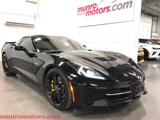 2014 Chevrolet Corvette Z51 3LT Glass Roof Navigation Low Kms in St George Brant, Ontario