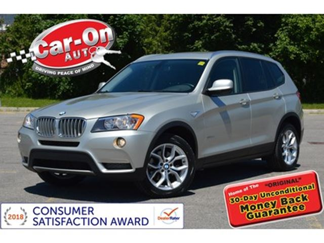 2012 BMW X3 XDrive28i AWD LEATHER HTD SEATS ONLY 69000 KM Silver