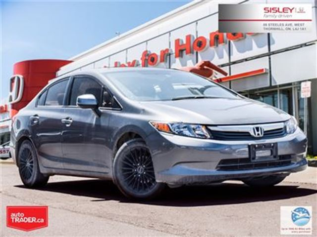 2012 HONDA Civic LX (A5) in Thornhill, Ontario