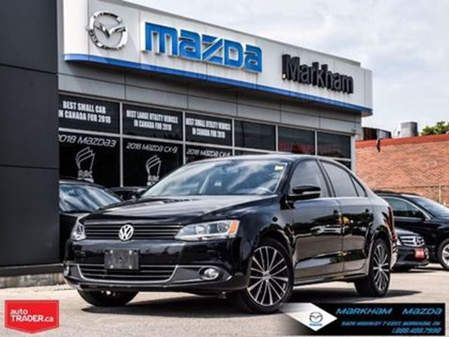 2013 Volkswagen Jetta 2.5L Highline (A6) Leather Moonroof in Markham, Ontario