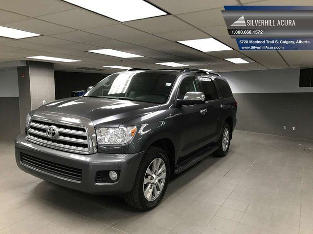 2011 TOYOTA Sequoia Limited 4WD *2 SET TIRES WITH RIMS* in Calgary, Alberta