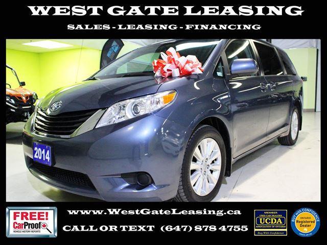 2014 Toyota Sienna LE AWD  CAMERA  BLUETOOTH  HEATED SEATS  in Vaughan, Ontario