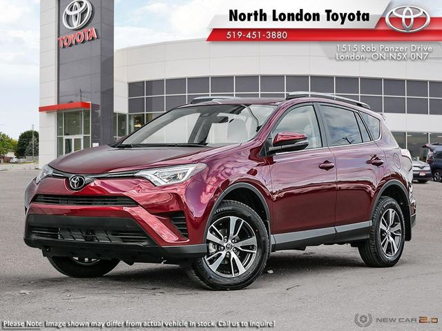 2018 TOYOTA RAV4 LE UPGRADE PACKAGE - company demo in London, Ontario