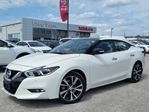2018 Nissan Maxima SL FWD w/all leather,NAV,dual pwr moonroof,rear cam,heated seats,climate,pwr group PREVIOUS DAILY RENTAL in Cambridge, Ontario