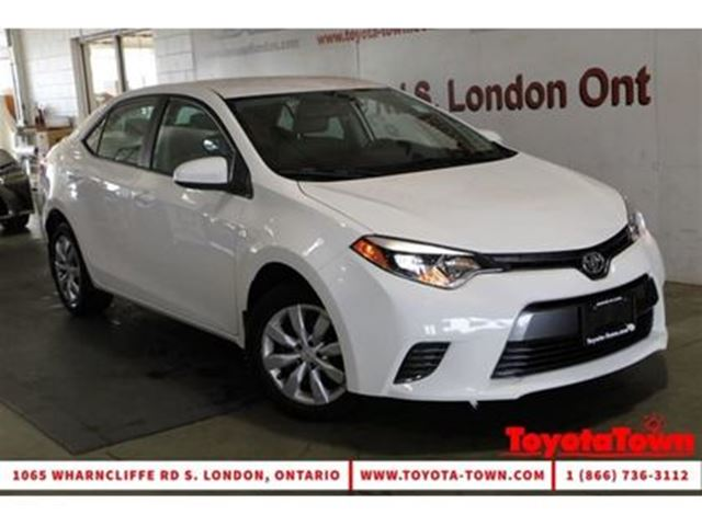 2015 TOYOTA Corolla SINGLE OWNER LE HEATED SEATS BACKUP CAMERA in London, Ontario