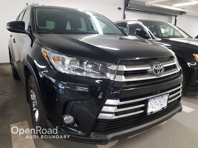 2018 TOYOTA Highlander AWD Limited in Vancouver, British Columbia