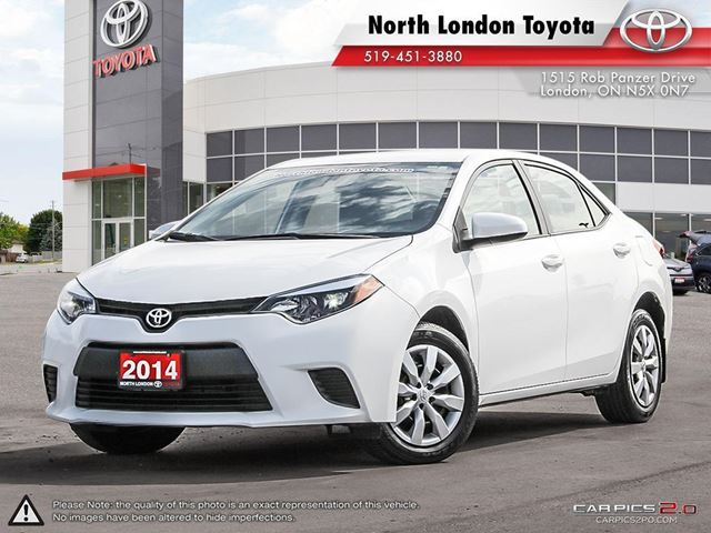 2014 TOYOTA Corolla LE One Owner, Serviced by Toyota Dealers, No Accidents in London, Ontario