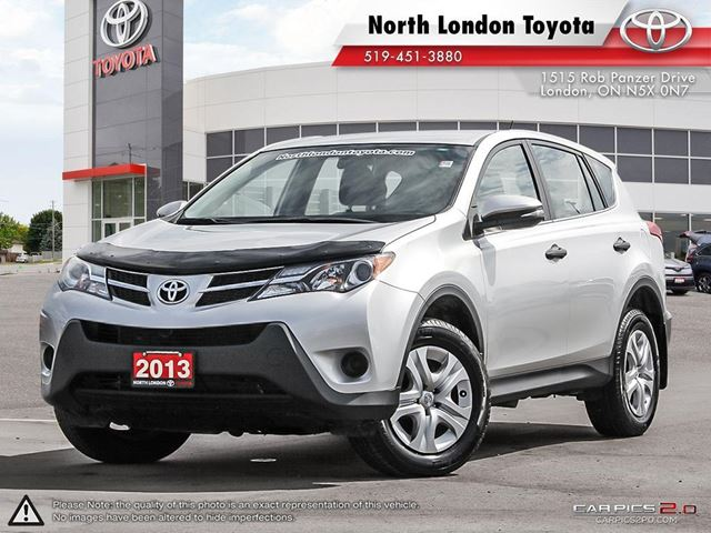 2013 TOYOTA RAV4 LE Sold and Serviced by North London Toyota in London, Ontario