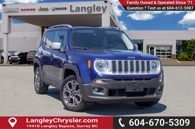 2016 JEEP Renegade Limited in Surrey, British Columbia