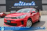 2018 Kia Rio LX+   HATCHBACK   REAR CAMERA   HEATED STEERING + SEATS   5 DISPLAY   BLUETOOTH   POWER PACKAGE in Guelph, Ontario