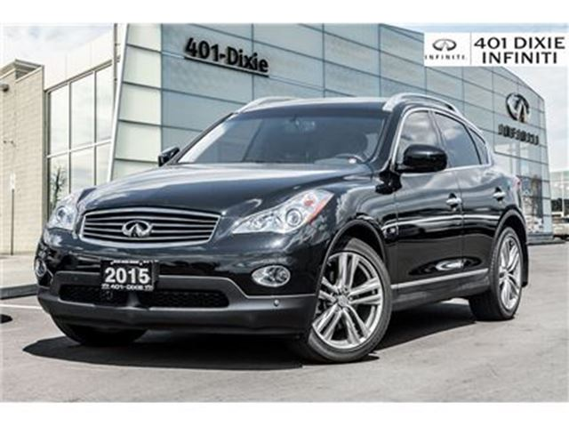 2015 INFINITI QX50 Navi! 360 Cam! Bose! All Service Records! in Mississauga, Ontario