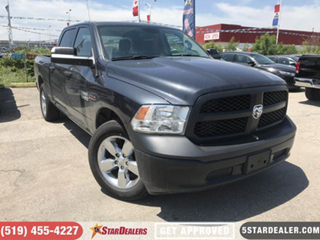 2016 DODGE RAM 1500 ST   EcoDiesel   4X4   BLUETOOTH in London, Ontario