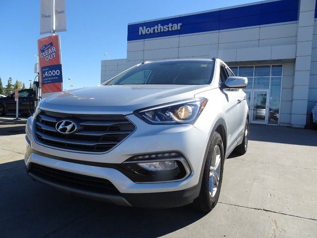 2018 HYUNDAI Santa Fe BACKUPCAM/HEATEDSEATS/BLUETOOTH in Edmonton, Alberta