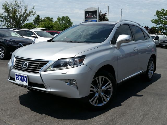 2013 LEXUS RX 350 NAVIGATION--SUNROOF--HEATED AND COOLED SEATS in Belleville, Ontario