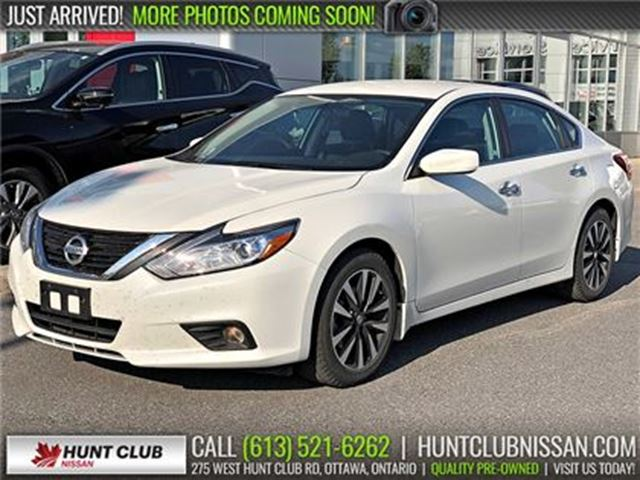 2018 Nissan Altima 2.5 SV   Htd Front Seats, Rear Camera, Bluetooth in Ottawa, Ontario