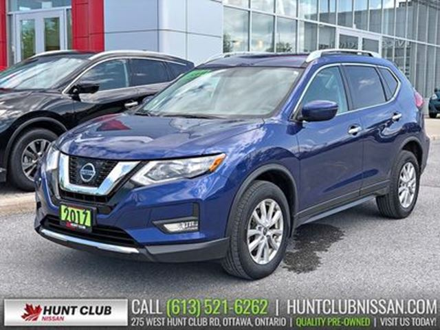 2017 Nissan Rogue SV AWD   Rear Camera, Bluetooth, Htd Seats in Ottawa, Ontario