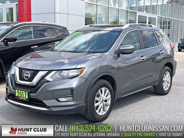 2017 Nissan Rogue SV AWD   Pano Moonroof, Htd Seats, Rear Camera in Ottawa, Ontario