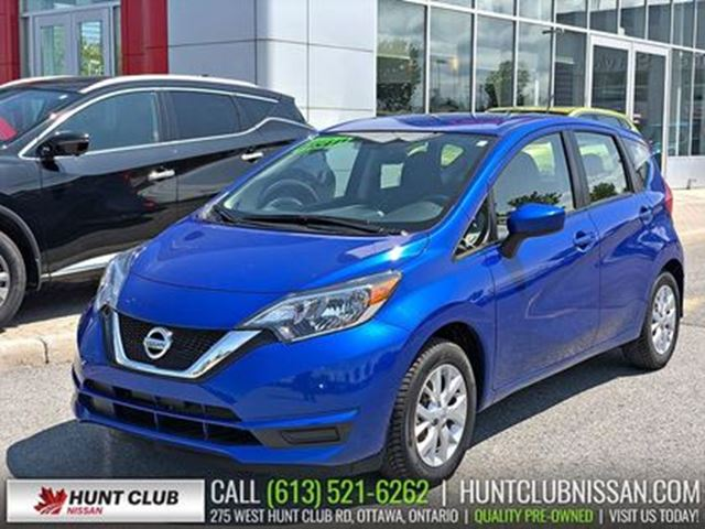 2017 Nissan Versa 1.6 SV   Rear Camera, Bluetooth, Cruise in Ottawa, Ontario
