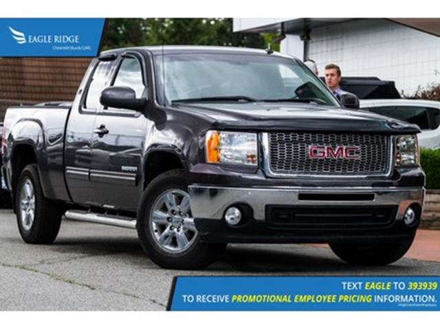 2011 GMC Sierra 1500 SLT Leather, USB/AUX, Steering Wheel Controls in Coquitlam, British Columbia