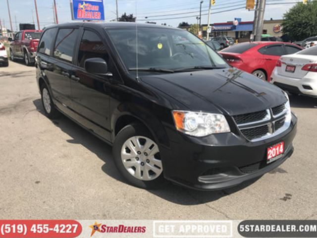 2014 DODGE Grand Caravan AUTO LOANS APPROVED IN 5 MINS in London, Ontario