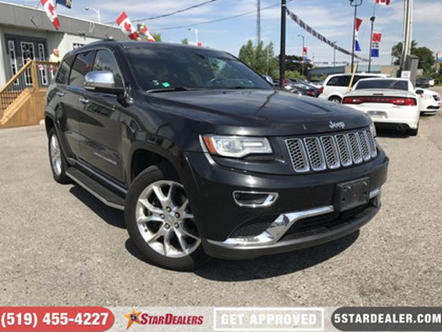 2014 JEEP Grand Cherokee Summit   NAV   LEATHER   PANO ROOF in London, Ontario