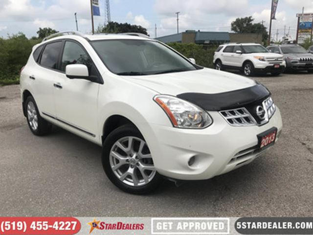 2013 NISSAN Rogue SL   NAV   LEATHER   ROOF   AWD in London, Ontario