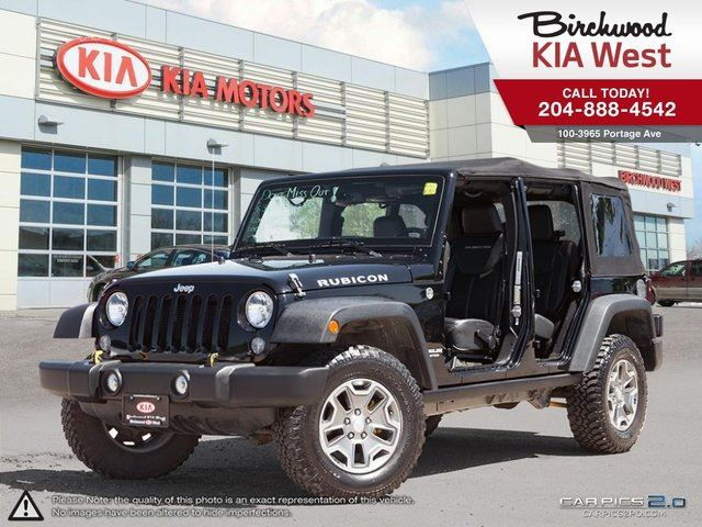 2014 Jeep Wrangler Unlimited Rubicon **Low KM/Accident Free/Local** in Winnipeg, Manitoba