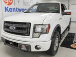 2013 Ford F-150 FX4 off road pkg ecoboost with power leather seats. Show your friends your pearrllly white new truck in Edmonton, Alberta