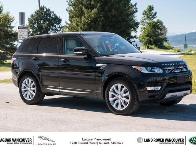 2015 Land Rover Range Rover Sport V6 HSE in Vancouver, British Columbia