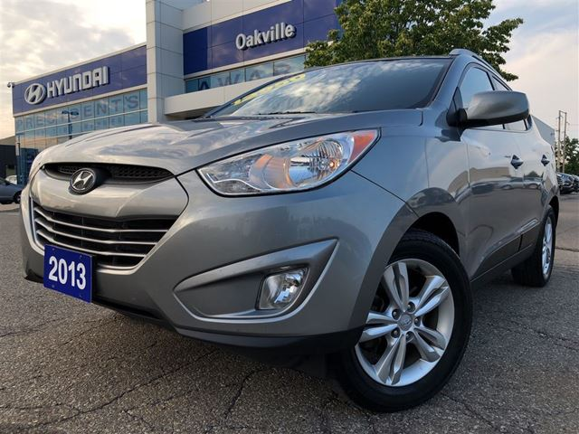 2013 HYUNDAI Tucson GLS  2.4L  LEATHER  HEATED SEAT  1 OWNER in Oakville, Ontario