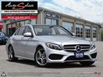 2015 Mercedes-Benz C-Class 4Matic C300 AWD ONLY 91K! **TECHNOLOGY PKG** SPORT PKG in Scarborough, Ontario