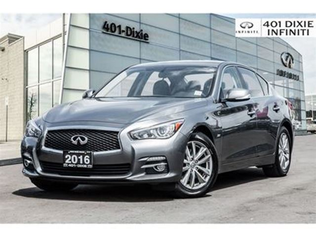 2016 INFINITI Q50 2.0T! Backup Cam! Heated Seats & Steering Wheel! in Mississauga, Ontario