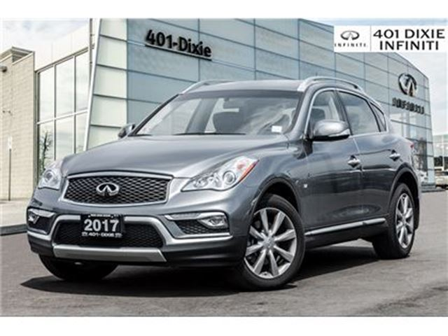 2017 INFINITI QX50 Low KMS! Journey Package! Original Dealer Demo! in Mississauga, Ontario