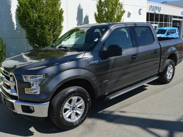 2016 Ford F-150 XLT 4x4 SuperCrew Cab Styleside 145.0 in. WB in Kamloops, British Columbia
