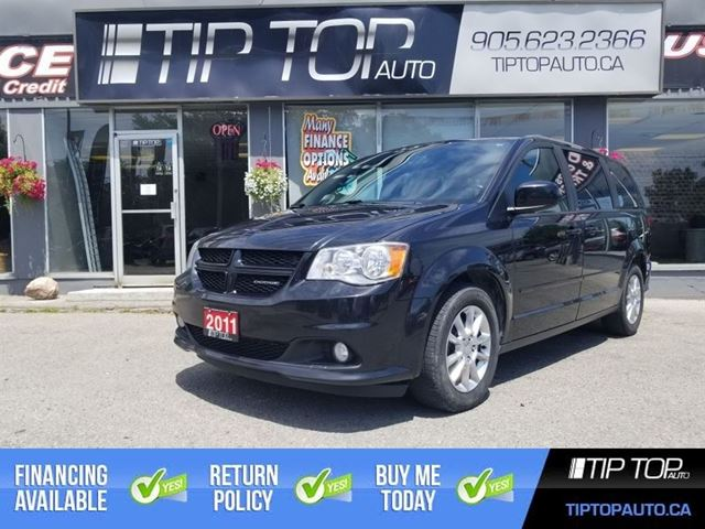 2011 Dodge Grand Caravan R/T ** DVD Player, Nav, Leather, Bluetooth ** in Bowmanville, Ontario