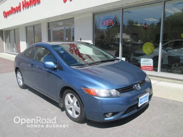 2008 Honda Civic EX-L  sunroof and leather seats in Burnaby, British Columbia