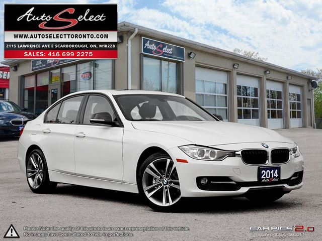 2014 BMW 3 Series xDrive AWD ONLY 90K! **SPORT PKG** PREMIUM PKG in Scarborough, Ontario
