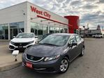 2015 Honda Civic LX,BACKUP CAM,HEATED SEATS! in Belleville, Ontario