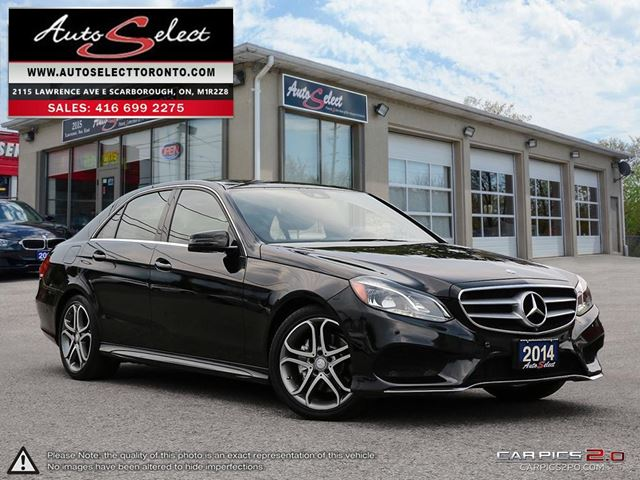 2014 MERCEDES-BENZ E-Class DIESEL E250 4MATIC ONLY 92K! **BLUETEC** TECHNOLOGY PKG  in Scarborough, Ontario