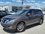2015 Nissan Pathfinder SL 4x4 w/all leather,NAV,lane assist,3rd row seating,pwr moonroof,climate control,rear cam,heated seats in Cambridge, Ontario