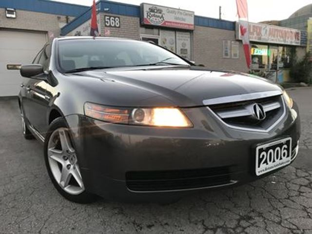 2006 ACURA TL w/NAVI Pkg_Leather_Sunroof_Bluetooth in Oakville, Ontario