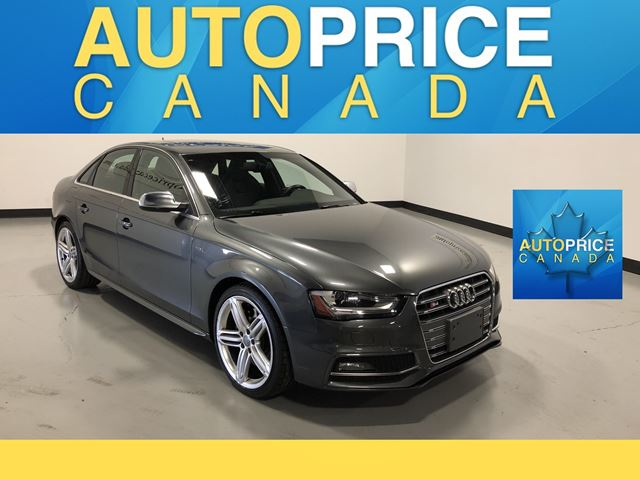 2015 AUDI S4 3.0T Technik NAVIGATION|REAR CAM|LEATHER in Mississauga, Ontario