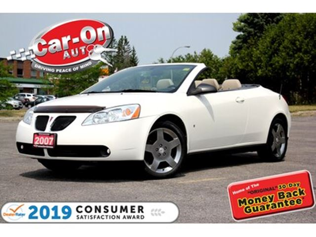 2007 Pontiac G6 GT HARDTOP LEATHER HTD SEATS ALLOYS in Ottawa, Ontario